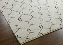 tulu trellis rug natural black geometric u0026 striped rugs