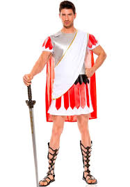 halloween costumes com coupon music legs white red gray men u0027s hunk julius caesar roman
