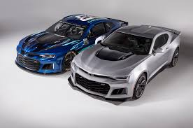 the chevy camaro zl1 is coming to nascar the drive
