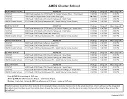 Light Year To Year Bell U0026 Bus Schedule Academy For Math Engineering U0026 Science