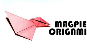 how to make easy and simple magpie origami for kids u2013easy magpie