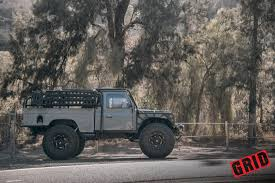 defender land rover off road 1984 land rover defender grid off road gd4 wheels west coast