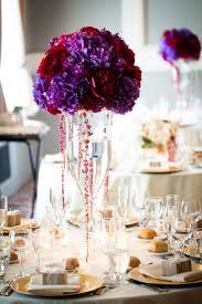 purple centerpieces sophisticated wedding decor with wedding centerpieces vases