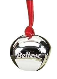 believe bell by inc hooked on ornaments