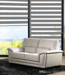 Gray Blinds Roller Zebra Blinds Light Filtering Sheer Shade In Grey Curtains