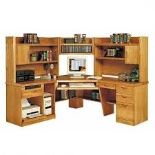 Corner Computer Desk Ideas Corner Computer Desk Foter Pertaining To Amazing Household Oak