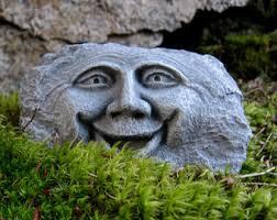 cement garden rocks etsy
