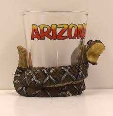 Home Decor Stores In Arizona Rattlesnake Souvenir Shot Glass Arizona Experience Store Home