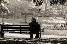 Bench Photography Woman Sitting Alone On A Bench Free Stock Photo Public Domain