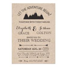 mountain wedding invitations mountain wedding invitations announcements zazzle