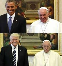 fact check pope francis smiled with president obama frowned with