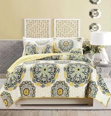 Grey And Yellow Comforters Nursery Decors U0026 Furnitures Yellow And Black Comforter Set