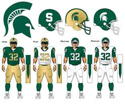 michigan state football clipart clipartfest