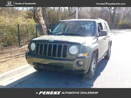 liberty jeep 2007 2007 used jeep patriot 4wd 4dr sport at toyota of fayetteville