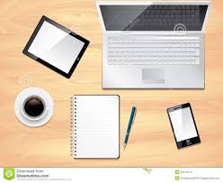 top office top office designer office desk isolated objects top view top view office desk