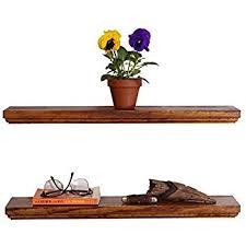 Decorative Wooden Shelf Edging Amazon Com Dakoda Love Routed Edge Floating Shelves Usa Handmade