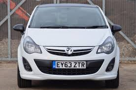 used 2013 vauxhall corsa limited edition for sale in essex