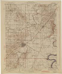 State Map Of Illinois by