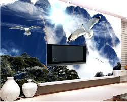 articles with 3d wall murals for living room india tag 3d wall mural papel de parede adesivo custom 3d wall mural wallpaper mountain blue sky and white clouds scenery