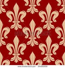 what is floral pattern in french maroon beige floral seamless pattern french stock vector 394895959