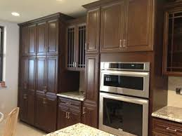 hand painted and distressed kitchen cabinetry traditional antiqued
