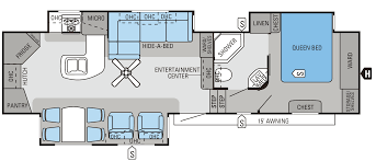 5th Wheel Camper Floor Plans by 2014 Eagle Fifth Wheels Floorplans U0026 Prices Rapids Rv Inc