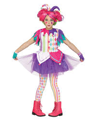 colorful harlequin children costume modern clown costumes for