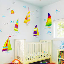 Sailboat Decor For Nursery Sailboat Wall Decor Nursery Beautiful Home With Sailboat Decor