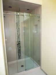 1000 Sliding Shower Door Frameless Sliding Shower Door Gallery Custom Shower Enclosures