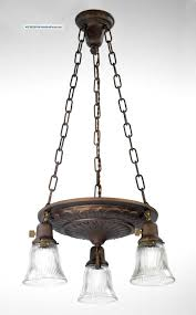 Brass Lighting Fixtures by Brass Chandelier Pan Light Ornate Restored Antique Vintage Old