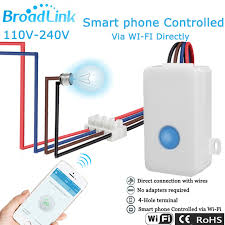 wifi controlled light switch broadlink sc1 smart home automation 2 4ghz wireless remote
