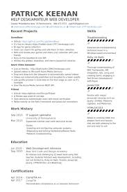 Resume Examples It by It Support Resume Resume Example