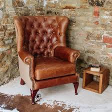 vintage leather chesterfield sofa for sale buy vintage leather tweed chesterfield armchair button back