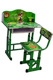 study table and chair kris toy ben ten study table and chair for kids green amazon in