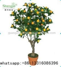 q010502 evergreen artificial fruit trees for sale small bonsai