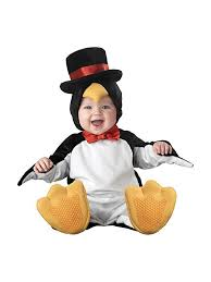 Halloween Baby Costumes 0 3 Months Amazon Incharacter Baby Lil U0027 Penguin Costume Clothing
