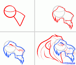 how to draw scar easy step by step disney characters cartoons