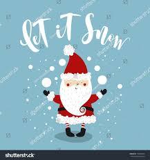christmas greeting card funny santa claus stock vector 718826764