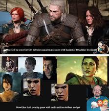 Cd Meme - cd projekt red vs bioware gaming know your meme