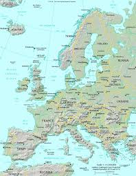 map of eurup map of europe map europe atlas