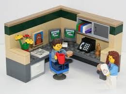 lego office lego ideas cubical world