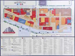 Map Request Toronto Distillery District Map 2016 My World Of Photos