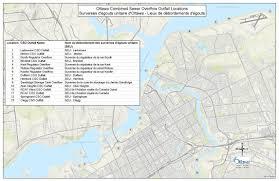 Map Of Ottawa Wastewater Collection And Treatment City Of Ottawa