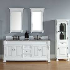 Bathroom Counter Storage Tower Beautiful White Cottage Bathroom Vanities For Raised Panel Cabinet