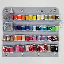 Over Door Closet Organizer - 20 pocket craft supply organizer perfect for small craft supplies