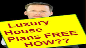 New Luxury House Plans by One Story Luxury House Plans How To Get Free Luxury House Plans