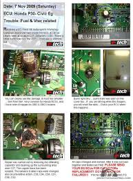 drive a honda civic eg ek must read leak capacitor in ecu vtec