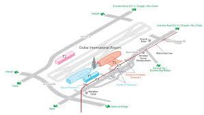 Charlotte Airport Gate Map Dubai Airport Terminal Map Dubai Terminal Map United Arab Emirates