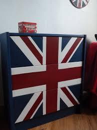 chambre anglais drapeau anglais stéphanie et éléonore déco