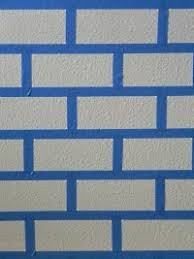 How To Paint A Faux Brick Wall - painting faux brick